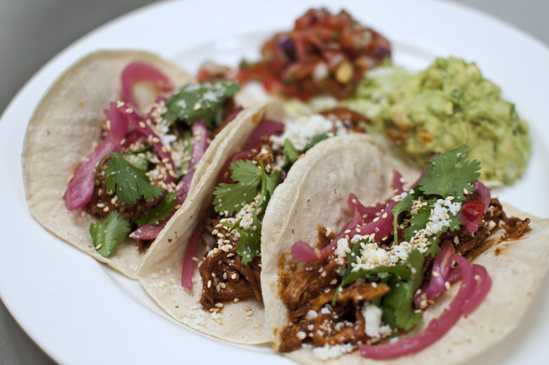 Image result for chicken mole tacos